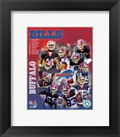 Framed 2007 -  Bills Team Composite