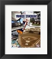 Framed Yankee Stadium Composite