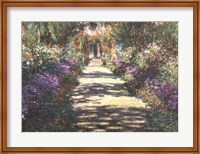 Framed Garden at Giverny