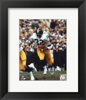 Framed Franco Harris - Running With Ball