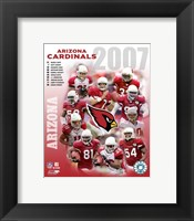 Framed 2007 - Cardinals  Team Composite