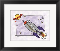 Framed Rocketship I