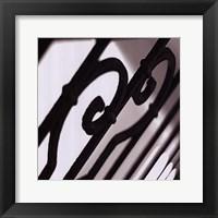 Iron Gates IV Framed Print