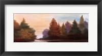 Framed Pine Tree Lake I