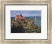 Framed Fisherman's Cottage on the Cliffs at Varengeville, 1882