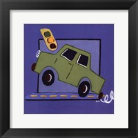 Kiddie Car Framed Print