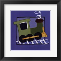 Kiddie Train Framed Print