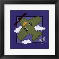 Framed Kiddie Plane