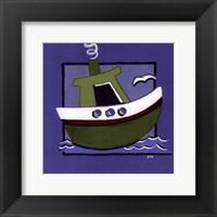 Framed Kiddie Boat