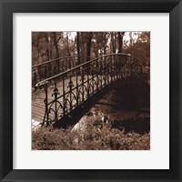Framed Wrought Iron Bridge II