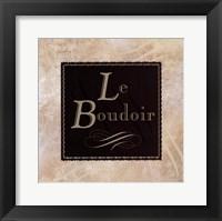 Framed Le Boudoir