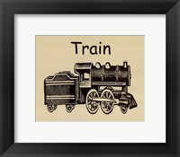 Framed Train