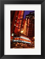 Framed Radio City Music Hall