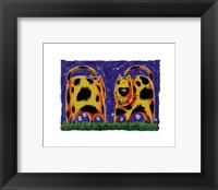 Funky Kitty Framed Print