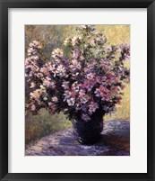 Framed Vase of Flowers
