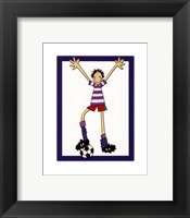 Soccer Dude Framed Print