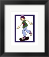 Framed Skater Guy