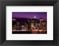Skyline NYC Framed Print