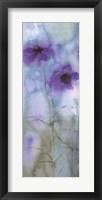 Framed Evening Floral I