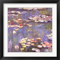 Framed Water Lilies, c.1916
