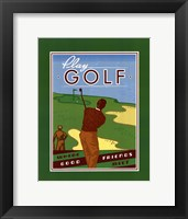 Framed Play Golf