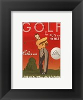Relax and Play Framed Print