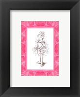 Framed Ballerina Fairy