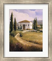 Framed Tuscany Afternoon