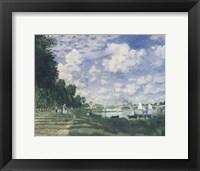 Framed Le Bassin d'Argenteuil