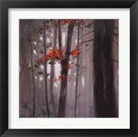 Framed Autumn Embers