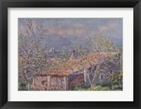 Framed Gardener's House at Antibes, 1888