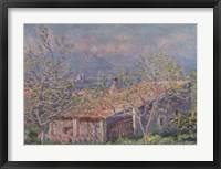 Framed Gardener's House at Antibes, 1888
