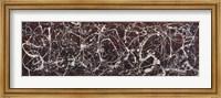 Framed Number 13A:  Arabesque