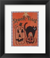 Framed Spook Time