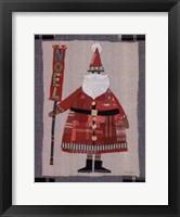 Framed Santa Noel