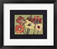 Framed Flowers I
