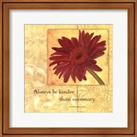 Framed Kindness - Gerber