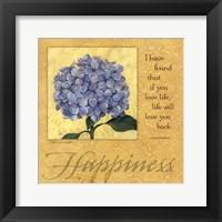 Framed Happiness - Hydrangea