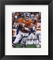 Framed John Elway - Rolling Action