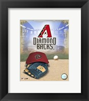 Framed 2007 - Diamond Backs Logo