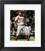 Framed Jose Valverde - '07 NLDS / Game 3
