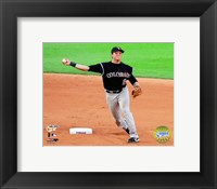 Framed Troy Tulowitzki - '07 NLDS / Game 1