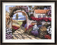 Framed Pathway to the Sea I