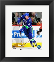 Framed Daniel Sedin - 2007 Home Action