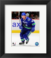 Framed Henrik Sedin - 2007 Home Action