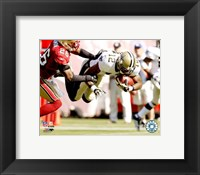 Framed Marques Colston - 2007 Action