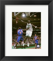 Framed Kevin Garnett - 2007 Action