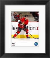 Framed Dany Heatley - 2007 Home Action