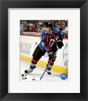 Framed Milan Hejduk - 2007 Home Action