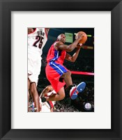 Framed Chauncy Billups - 2007 Action